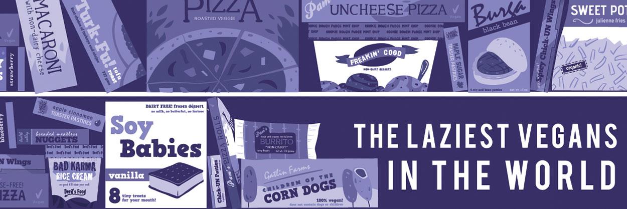 Laziest Vegans blog header